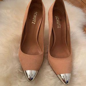 Schutz salmon heels